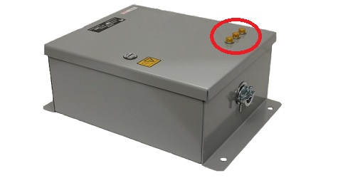 Nautel-NAV-SPU2-Surge-Protection-Unit-Neon-Indicator-Lamps
