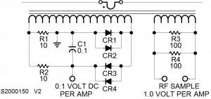 RF Current Probe Circuit Diagram